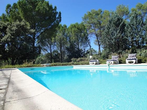 Ferienhaus Provence mit Pool, Carces Pool