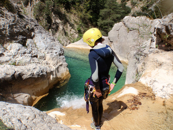 Klettergurt Canyoning : Canyoning in der provence ferienhaus