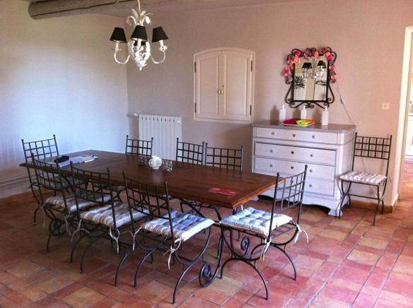 Ferienhaus Provence Privat Für 10 Personen In Séguret