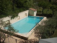 Ferienhaus Provence privat 9 Personen (mind. 1 Kind) in Vaison-la-Romaine