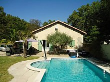 Ferienhaus Provence mit Pool, Sorgues Pool